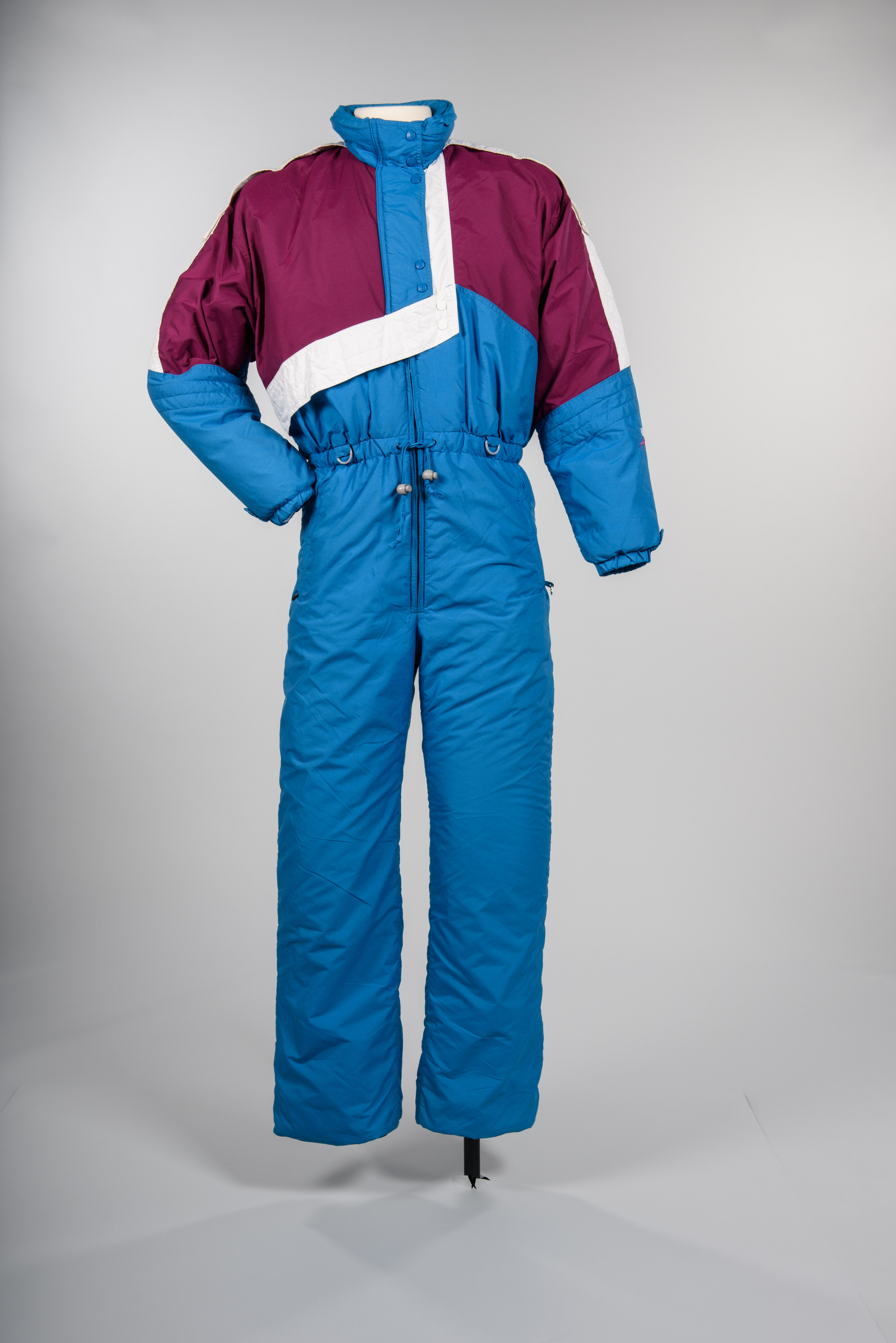 One-piece ski suit, 1980s. Roffe Inc., Seattle maker. Copyright MOHAI Collection.