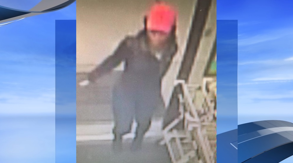 If you recognize the person in this photo, call Horry County police! (Photo from surveillance camera footage during armed robbery at Dollar General near Conway.)