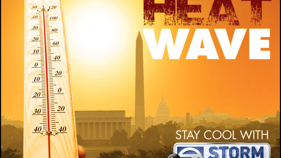 HEAT WAVE: Mid 90s return to the DC area this week