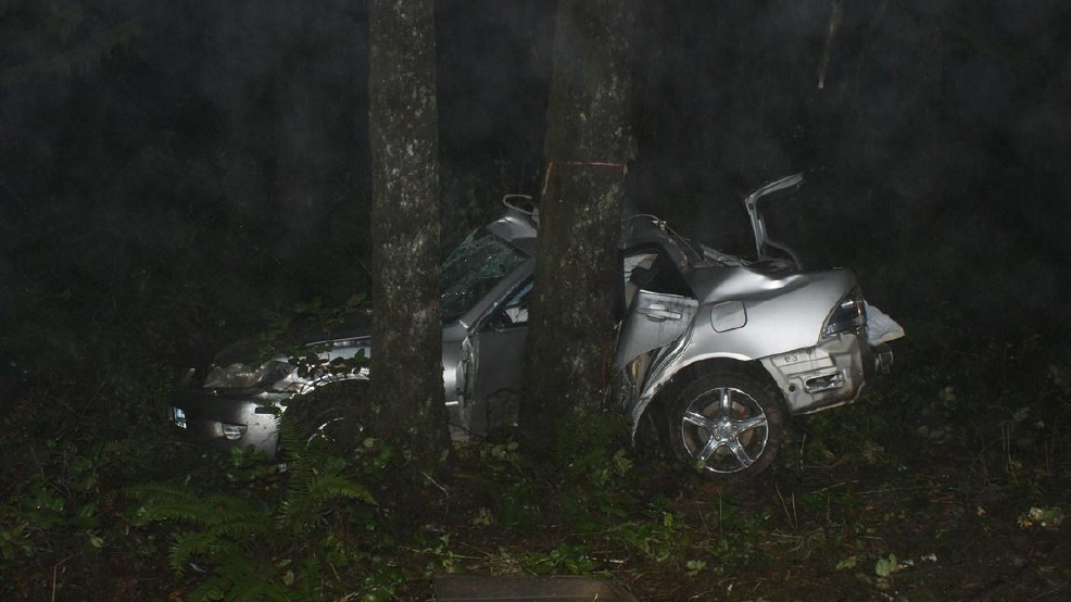 Car Crash Eugene Oregon