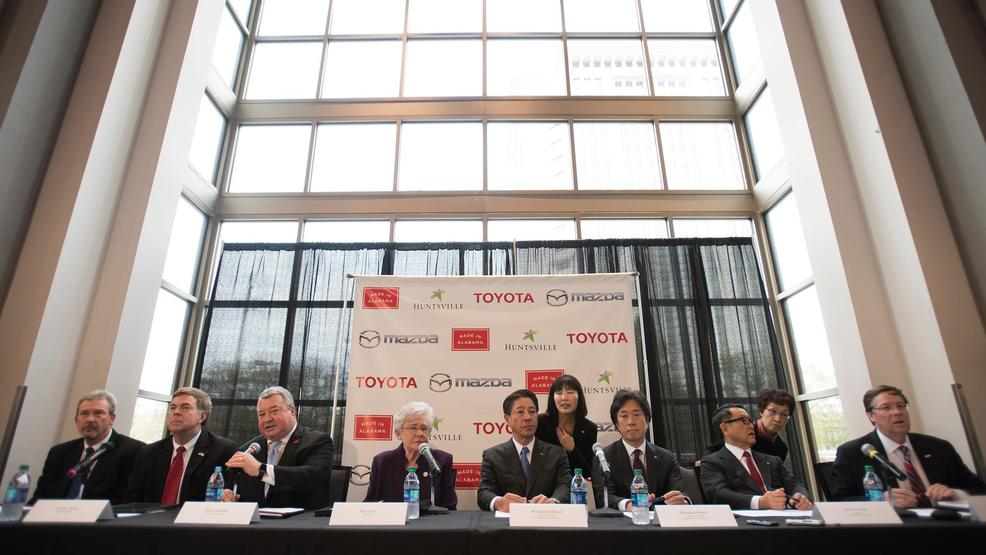 New toyota mazda plant will bring 4 000 jobs to alabama komo for Mazda motor of america inc