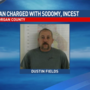 Morgan County man charged with incest, sodomy of minor