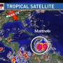 Hurricane Matthew now a powerful category four storm