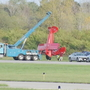 Plane flips on its top at Greene County airport