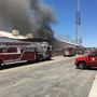 Fire crews battling structure fire in central Bakersfield