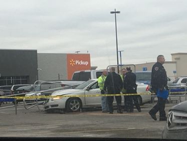 Police are investigating after someone was shot at a Walmart in Fairfield Township. (Courtesy: Brandy Lucken)