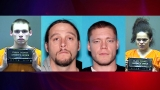 UPDATE: Clark County manhunt over; all suspects caught