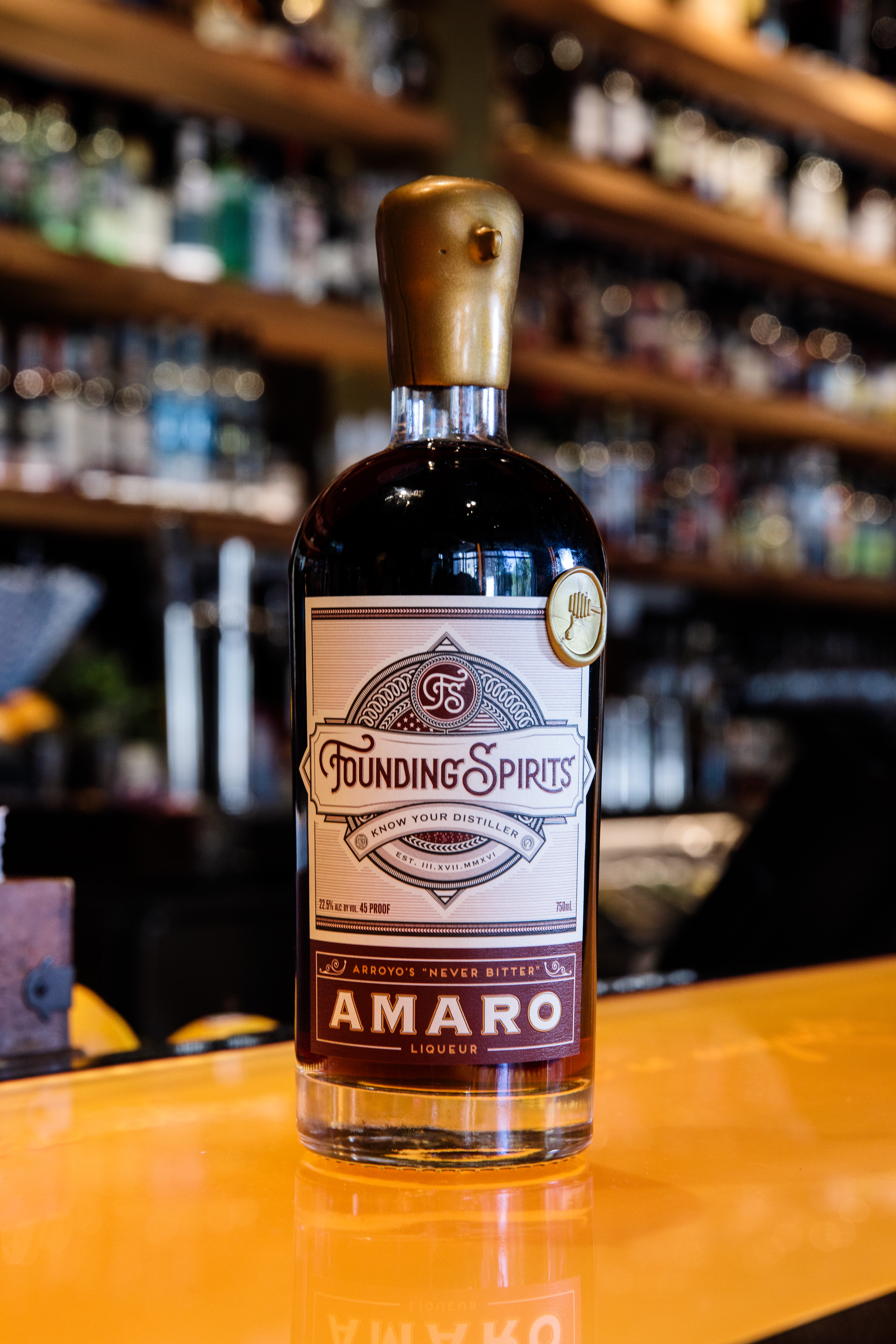 GW Limited Edition Amaro from Founding Spirits // Price: $60 // Buy online // www.foundingspirits.com // (Image: Founding Spirits)