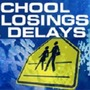 School Closings and Delays for Friday