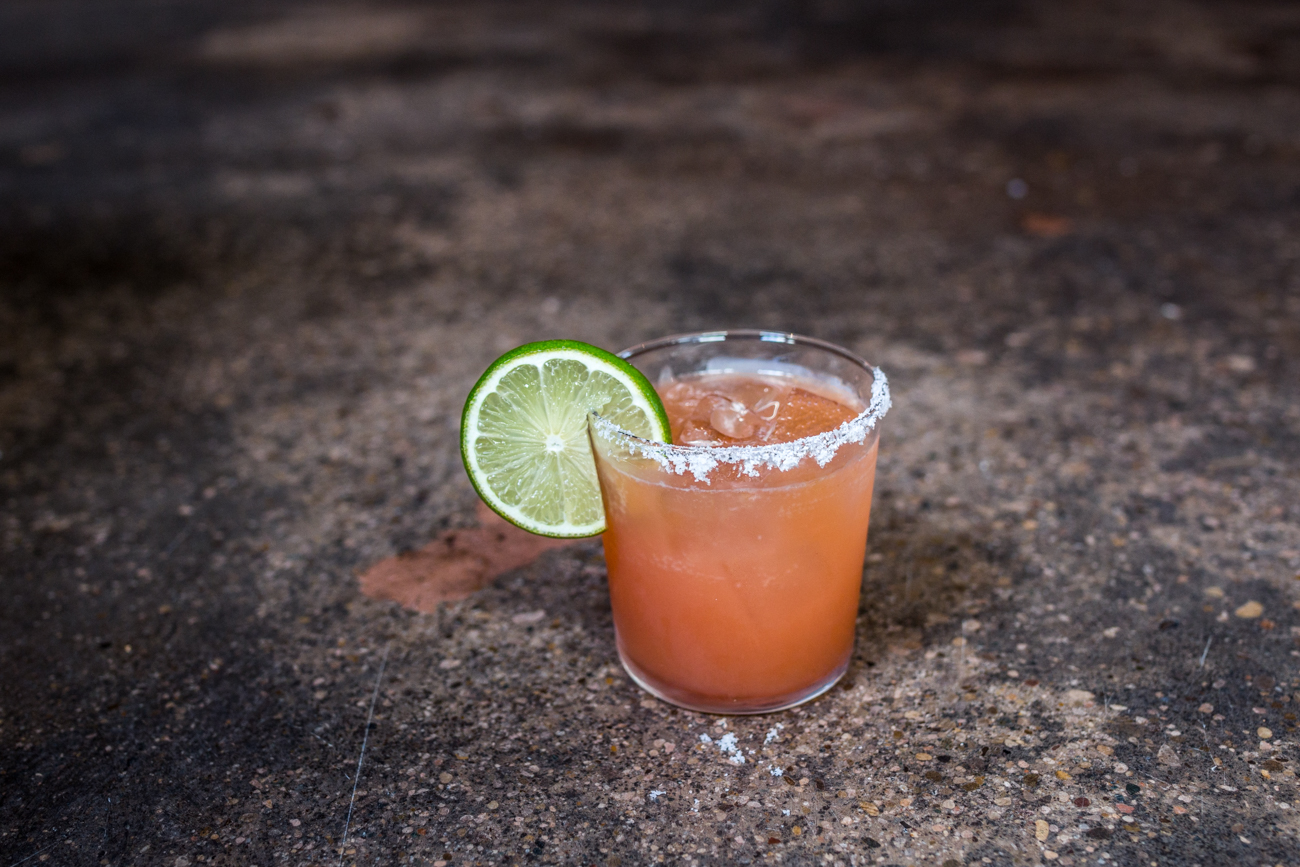 Margarita: anejo tequila, damiana, and citrus / Image: Catherine Viox // Published: 7.12.19