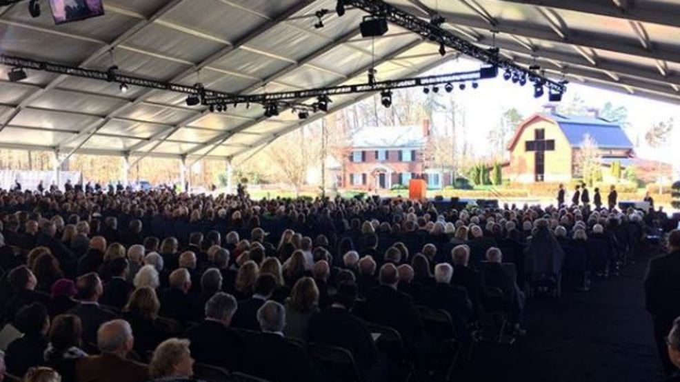 VIDEO: Billy Graham's funeral service in Charlotte