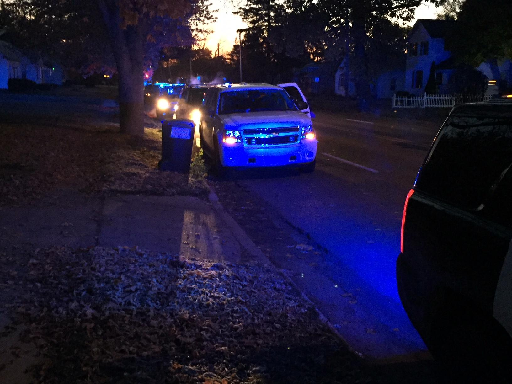 Police in Kalamazoo are investigating after locating a body Wednesday morning. (WWMT/Jason Puhr)