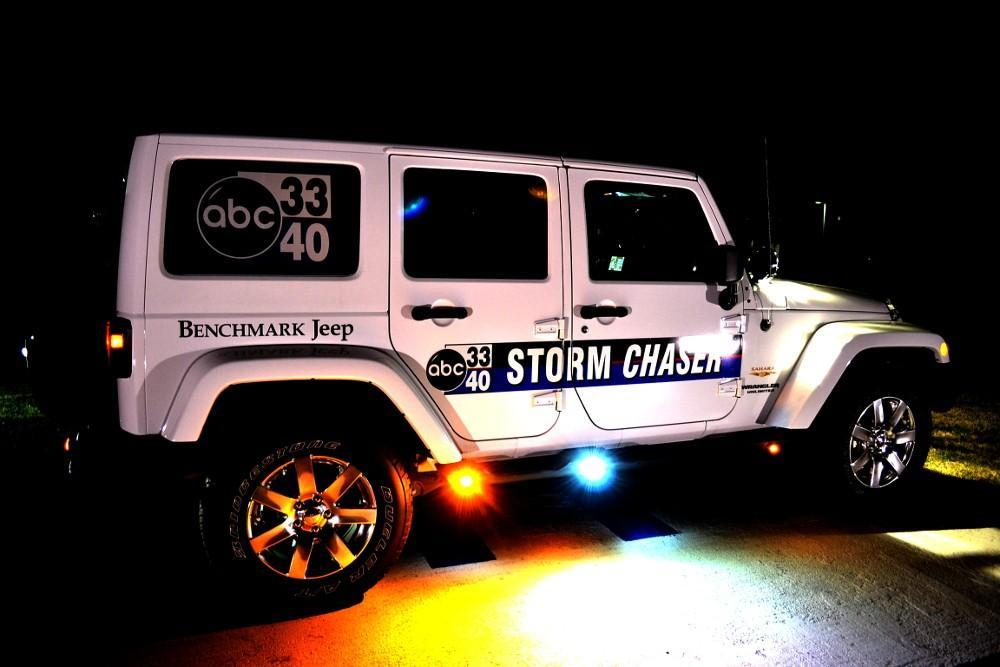 Benchmark Jeep Wrangler Storm Chaser for ABC 33/40