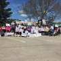 Lovers of science march through the streets of Kearney