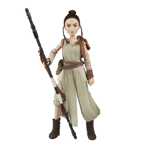 STAR WARS FORCES OF DESTINY ADVENTURE: REY (Photo: Hasbro)