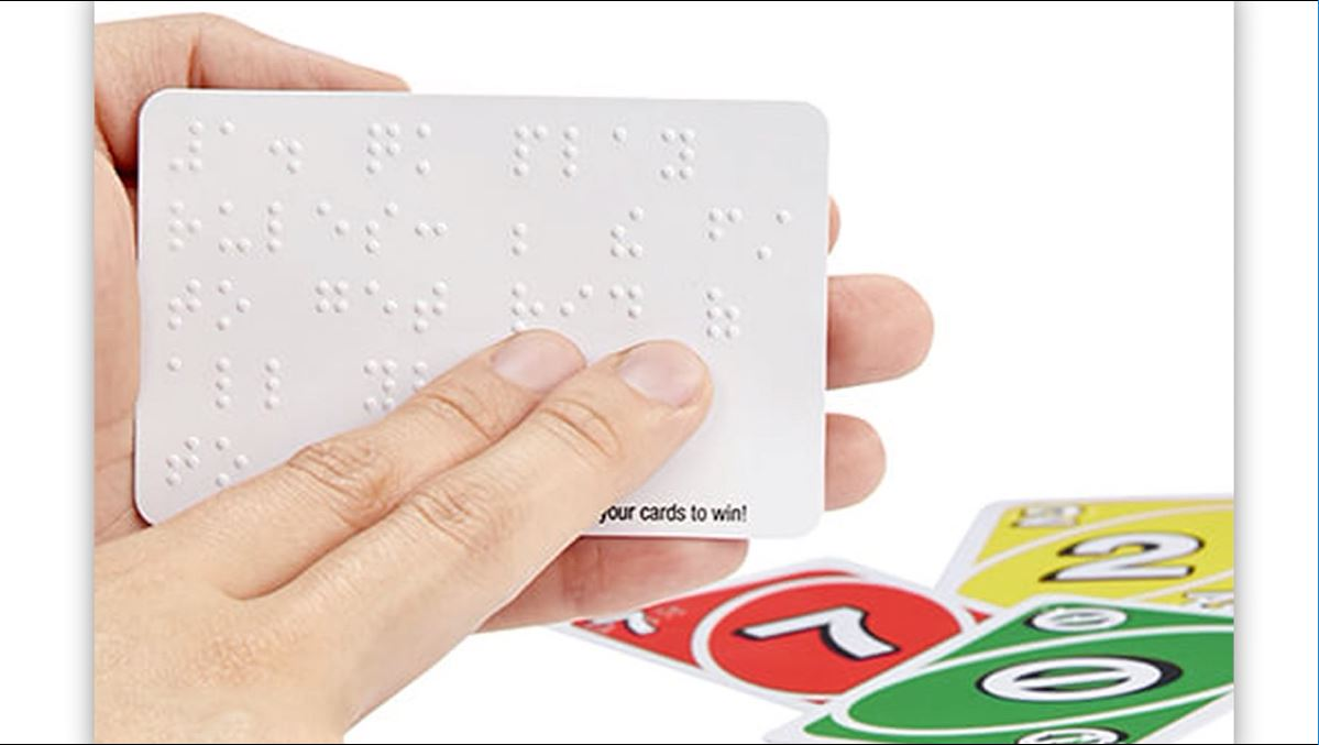 The creators of UNO have just released a braille version of the game. (CNN Newsource)