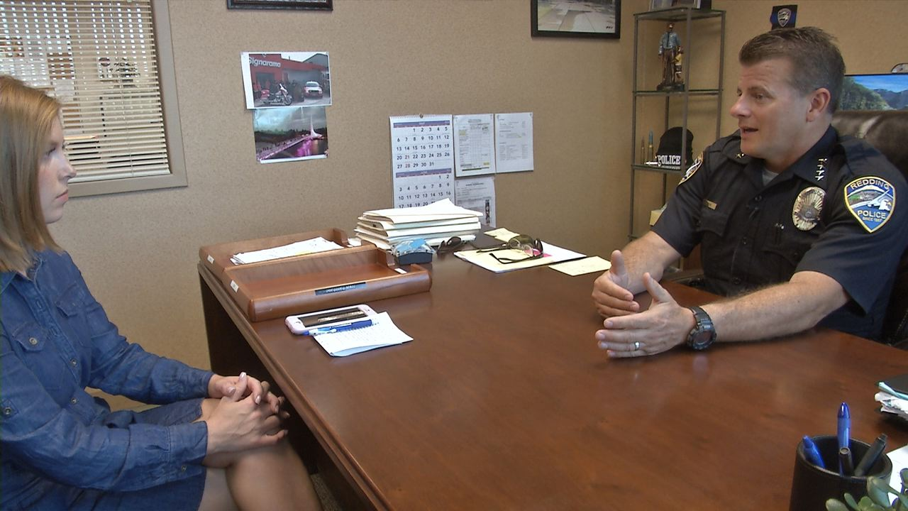 Redding Police Chief Roger Moore discusses crime in Redding parks