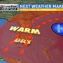 More warm temperatures with increasing wind