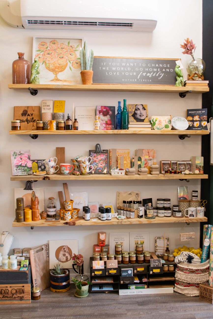 "Marsh's shopping advice? ""If you see something that really speaks to you, makes you laugh or makes you cry, or you find a piece that you never think you're going to come across again, then you need to just buy it for your home,"" she says. ""It's those little touches in your home that make you feel that it's a special place."" / Image: Elizabeth A. Lowry // Published: 9.10.20"