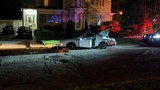 Suspect arrested in overnight Kalamazoo crash