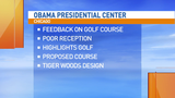 Proposed Obama Presidential Center golf course receiving mixed reviews