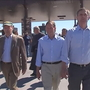 U.S. Senators visit temporary shelter in Tornillo where undocumented children are housed