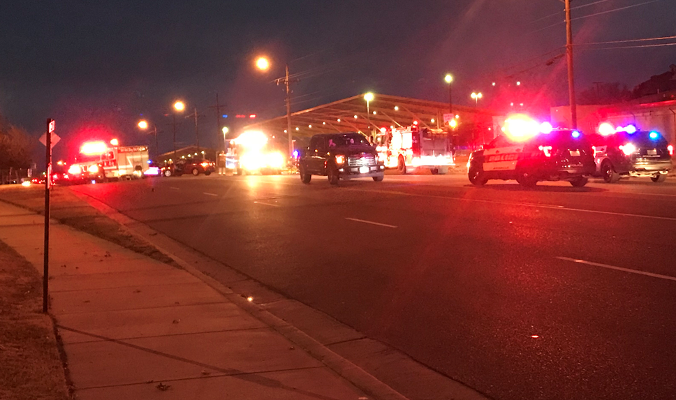 Officers are on the scene of a vehicle and pedestrian accident; Avoid the area (KVII)