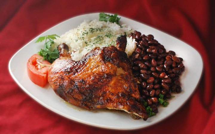 Chicken with Beans and Rice from Nelly's / Image courtesy of Nelly's // Published: 4.13.17