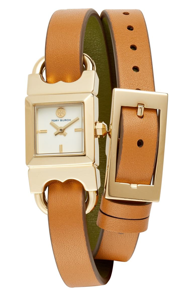 Reversible Leather Strap Wrap Watch. Sale:$129.90 / After Sale:$195.00. (Image: Nordstrom){ }