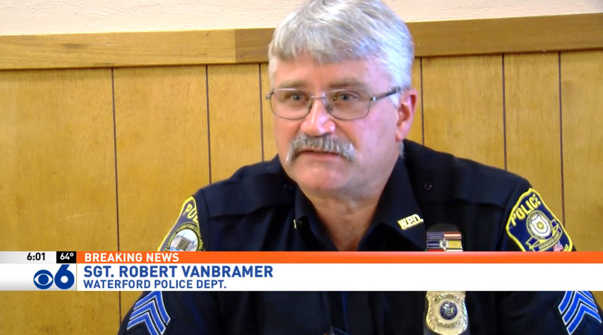 Sgt. Robert VanBramer, Waterford Police Department
