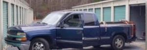 Vest and Sellars are believed to have traveled in this truck / Bibb County Sheriff's Office