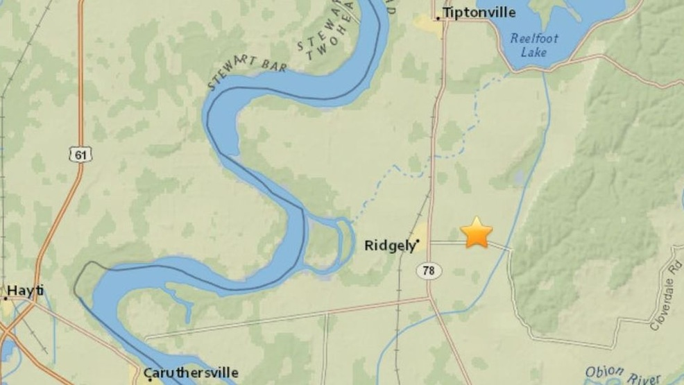 Earthquake in southeastern MO rumbles parts of TN (Earthquake in southeast Missouri 9-11 (Source - USGS)).jpg