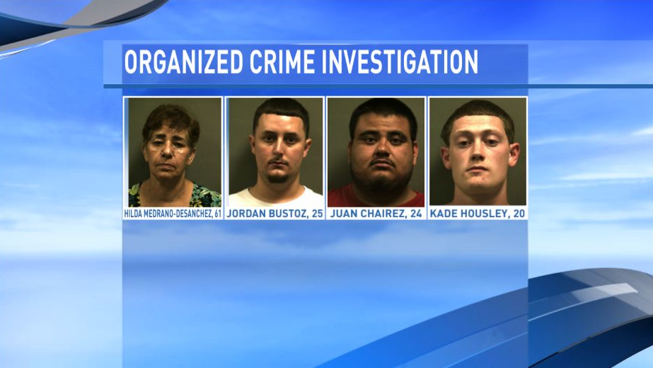12 people were arrested following a 2-year organized crime investigation conducted by the Randall County Sheriff's Office. 2 suspects are still wanted. (Photo: Randall County Sheriff's Office)