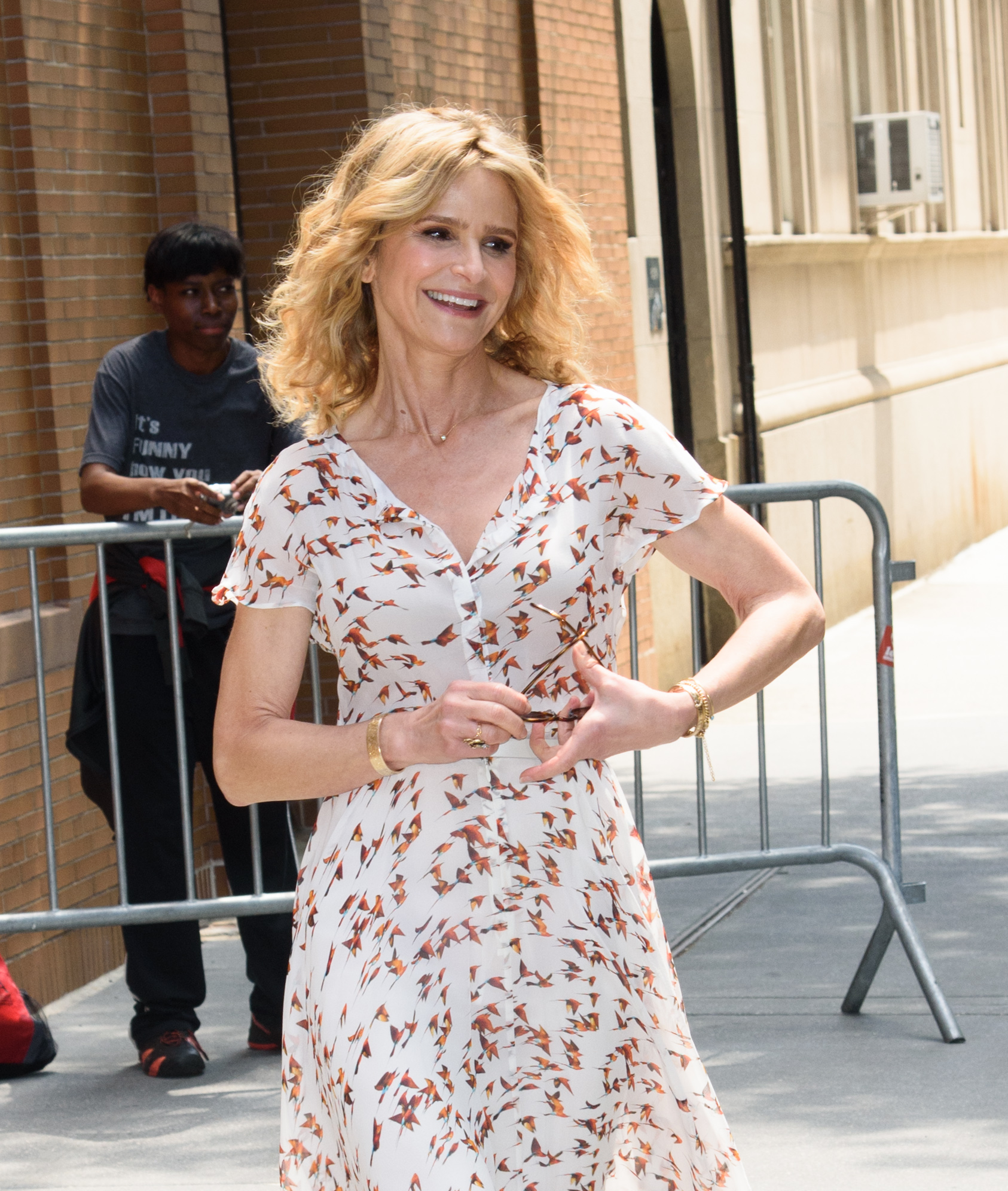 Celebs at The View  Featuring: Kyra Sedgwick Where: New York, New York, United States When: 18 Jul 2017 Credit: WENN.com