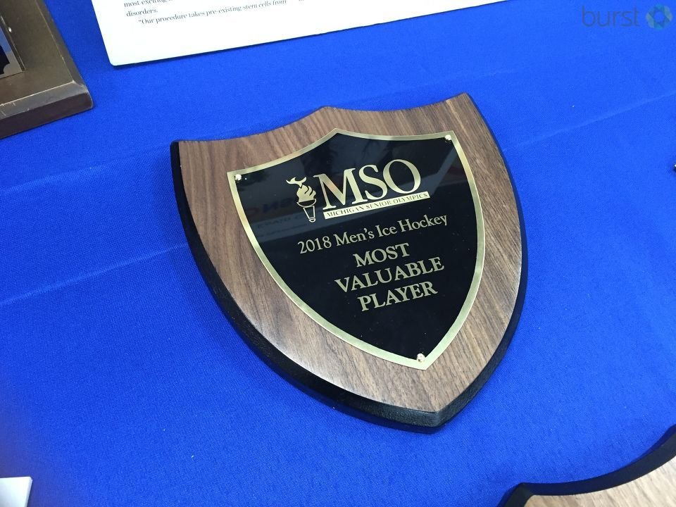 The Michigan Senior Olympics MVP award.{&amp;nbsp;}{&amp;nbsp;}<p></p>