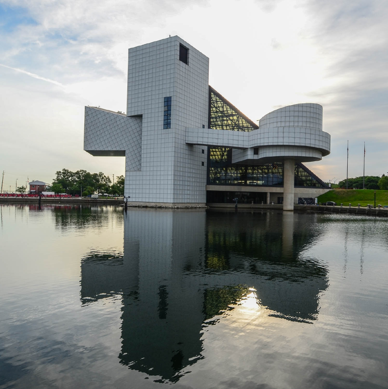 Cleveland isn't so bad! Just take a look at the Rock and Roll Hall of Fame! / Image: Sherry Lachelle Photography