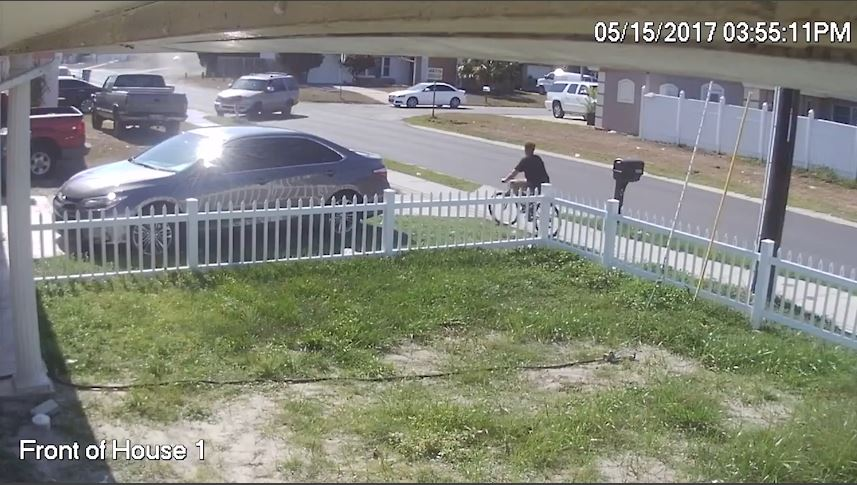 The Pasco County Sheriff's Office released video of a hit-and-run in Holiday.  Image & Video courtesy: Pasco Sheriff's Office Facebook via Jacki Kenney Lilly Facebook