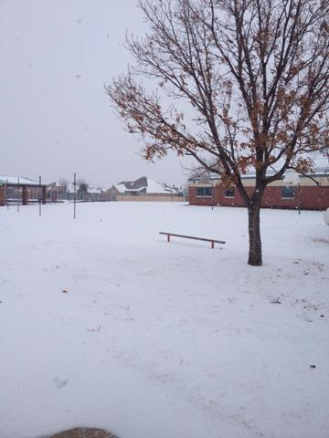 This is at Ralph Downs Elementary in Oklahoma City!