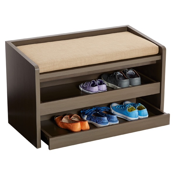 Buy a storage bench and create a foyer! (Photo: The Container Store)