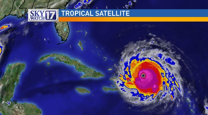 Hurricane Irma continues to make it's trek towards the Florida coast according to the latest projections from the National Hurricane Center. WZTV FOX 17 News Nashville