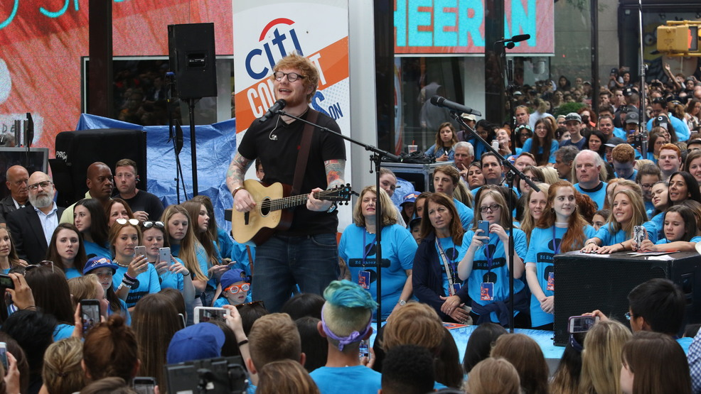 Gallery: Ed Sheeran performs live in New York City