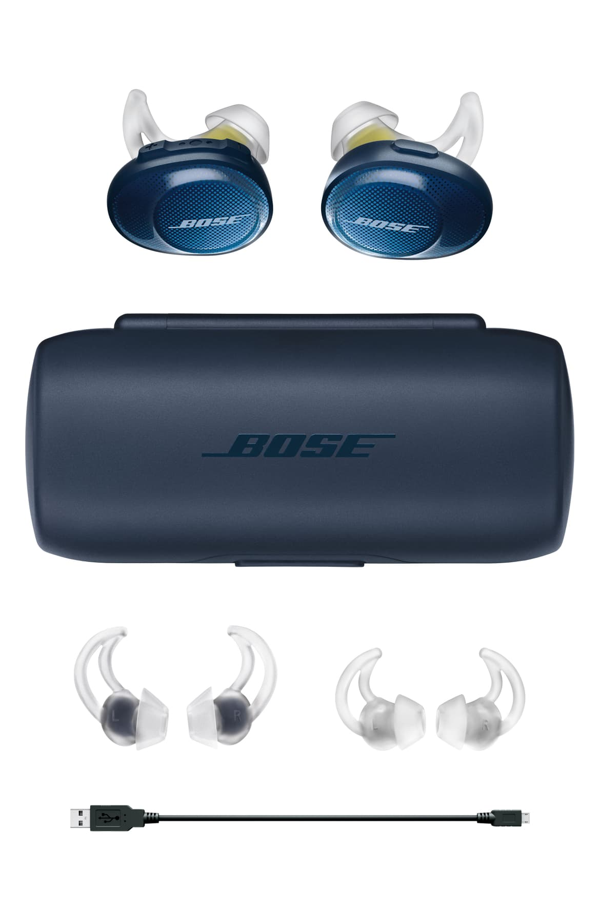Take his workout wireless with these high-performance ear buds that are optimized for active use - the added bonus is that they look really cool. $199.00 at Nordstom. (Image: Nordstrom)