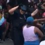 Watch: Renton Police officer busts a move during 4th of July celebration
