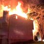 2 people jumped from burning Montgomery Co. home that collapsed, officials say