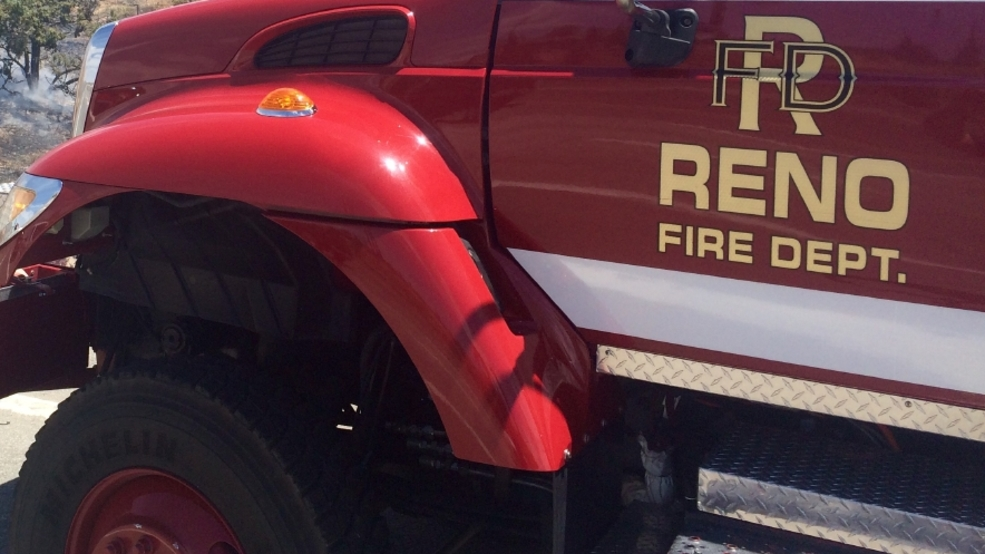 Attic fire in northwest Reno knocked down; firefighter injured