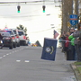 Watch: Police escort for fallen sheriff's deputy