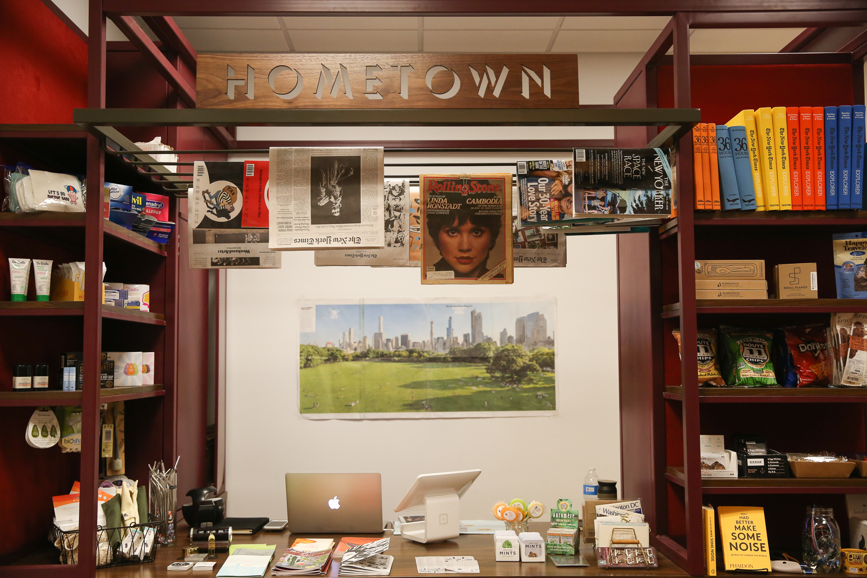Eaton offers a Newsstand, which features local zines and foreign publications. (Amanda Andrade-Rhoades/DC Refined)<br>