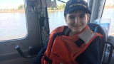 U.S. Coast Guard grants 16-year-old cancer patient's wish