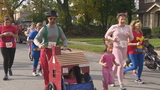 Runners sport Halloween attire for annual Rochester race