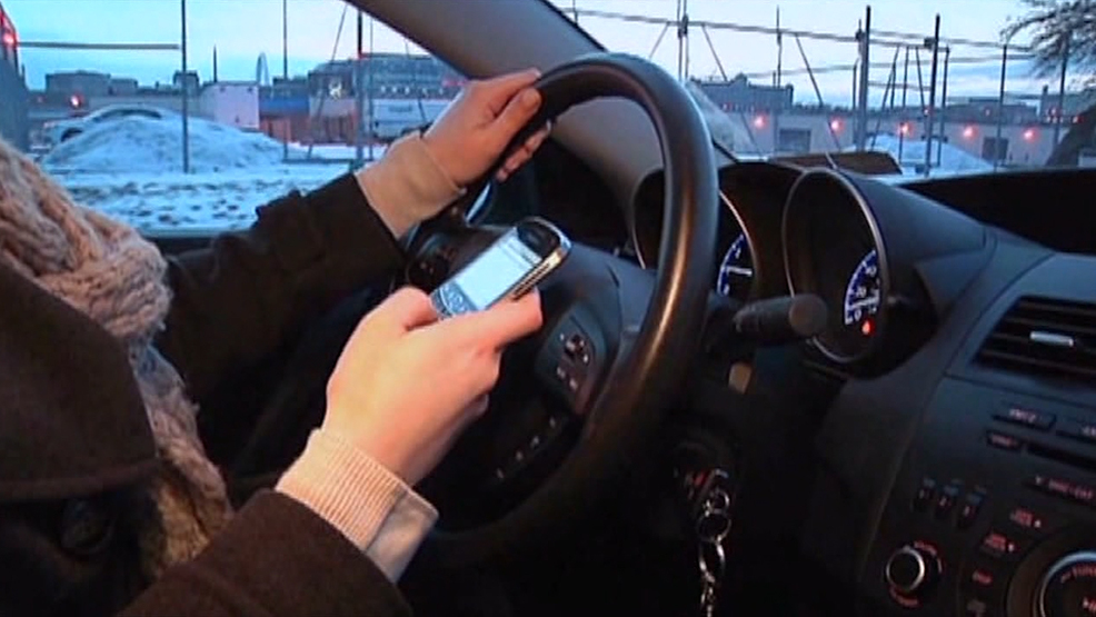 New Law Has Officers on the Lookout for Distracted Drivers